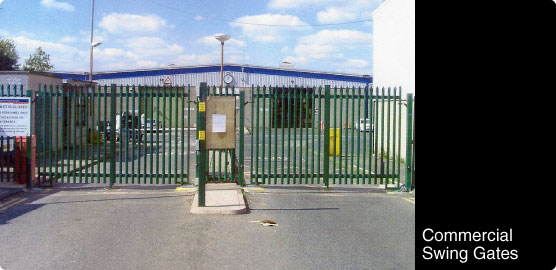Automated Commercial Swing Gates