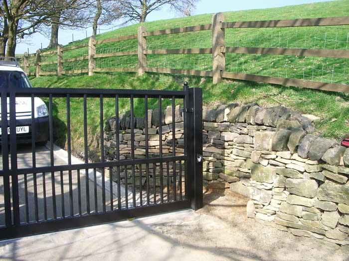 Automated Residential Sliding Gates